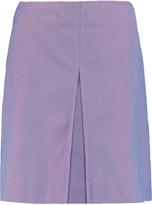 Acne Studios Karola cotton-twill mini skirt