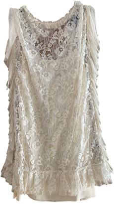 Dolce & Gabbana Beige Lace Dress for Women