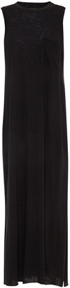ATM Anthony Thomas Melillo Pima Cotton-jersey Midi Dress