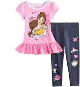 Disney Disney's Beauty & The Beast Belle Toddler Girl Top & Leggings Set