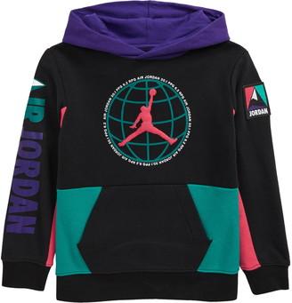 Jordan Kids' Fleece Colorblock Hoodie