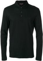 Michael Kors long sleeve polo shirt