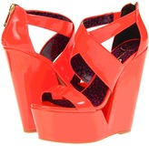 Jessica Simpson Sasa (Laser Orange Patent) - Footwear