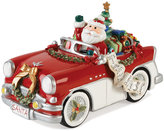 Fitz & Floyd Santa in His Musical Car Collectible Figurine