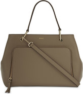 DKNY Bryant park saffiano leather satchel