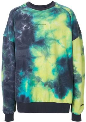 Juun.J oversized tie-dye print sweatshirt