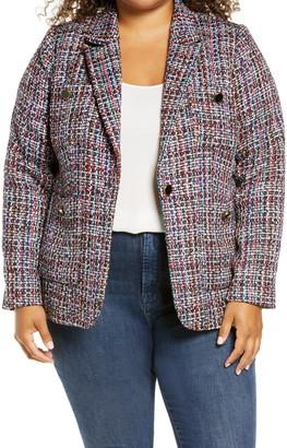 Halogen Callie Tweed Blazer
