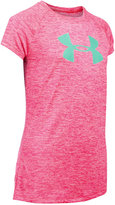 Under Armour Big-Logo Abstract-Print T-Shirt, Big Girls (7-16)