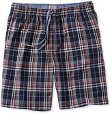 L.L. Bean Madras Pajama Shorts, Plaid