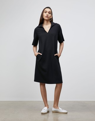 Lafayette 148 New York Petite Andie Dress In Punto Milano