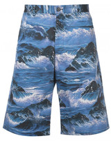 Givenchy 'Blue Hawaii' printed shorts
