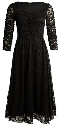 Dorothy Perkins Womens *Feverfish Black Flared Dress, Black