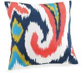 Trina Turk 18x18 Hollyhock Pillow - Coral/White