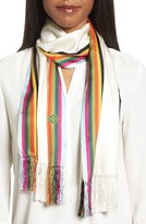 Tory Burch Women's Soul Stripe Silk Scarf