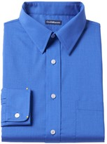 Croft & Barrow Men's Classic-Fit Solid Broadcloth Point-Collar Dress Shirt