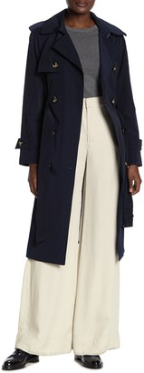 London Fog Double Breasted Trench Coat