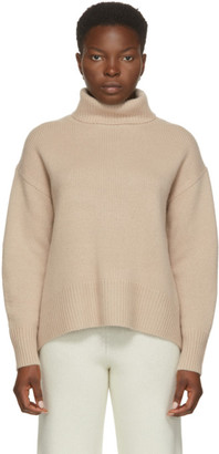 Arch4 Beige Cashmere Worlds End Turtleneck