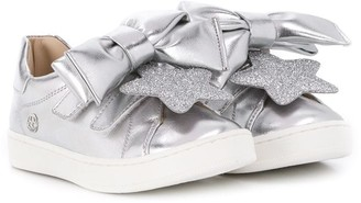 Florens Oversized Bow Sneakers