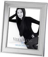 "Vera Wang Wedgwood Wedgwood Grosgrain Silver Frame 8""X10"