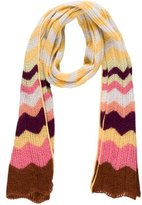 Missoni Chevron Wool Scarf