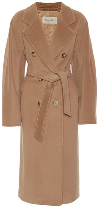 Max Mara Madame belted wool and cashmere coat