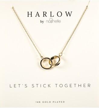 Nashelle Interlocking Circles Boxed Necklace