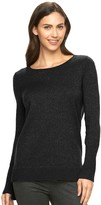 Apt. 9 Women's Sparkle Scoopneck Sweater