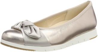 Gabor Women's Comfort Sport Closed Toe Ballet Flats Beige Shell 5 UK