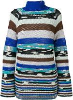 Missoni striped knitted jumper