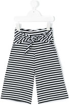 Il Gufo striped trousers - kids - Cotton/Spandex/Elastane - 10 yrs