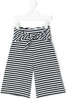 Il Gufo striped trousers - kids - Cotton/Spandex/Elastane - 12 yrs