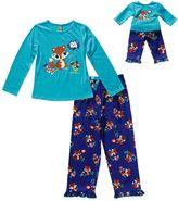 Dollie & Me Girls 4-14 Sparkly Squirrel Pajama Set