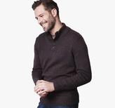 Johnston & Murphy Quarter-Button Sweater