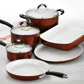 Tramontina Style Ceramica 9-Piece Cookware Set in Metallic Copper