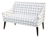 Skyline Furniture Modern Settee with Ferrules