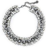 R.J. Graziano Rhinestone Chain Necklace