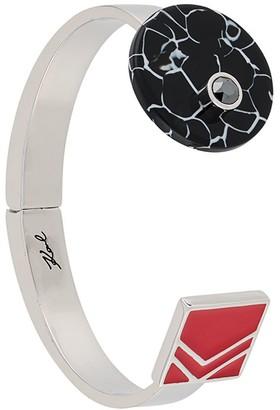 Karl Lagerfeld Paris Color Block Cuff Bracelet