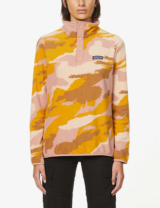 Patagonia Micro D Snap-T recycled-polyester sweatshirt