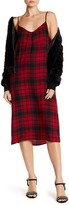 Dex Plaid Slip Dress