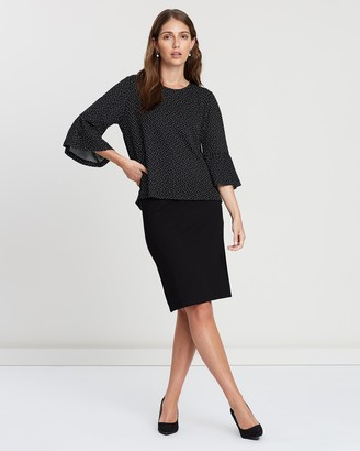 Privilege Women's Black Pencil skirts - Pencil Skirt - Size One Size, 10 at The Iconic