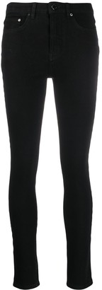 Victoria Victoria Beckham Skinny Mid-Rise Jeans
