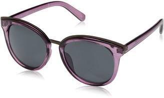 H Halston Women's Hh 138 Round Fashion Designer Uv Protection Sunglasses