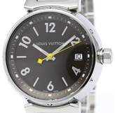 Louis Vuitton Tambour Q1311 Stainless Steel Quartz 34mm Unisex Watch