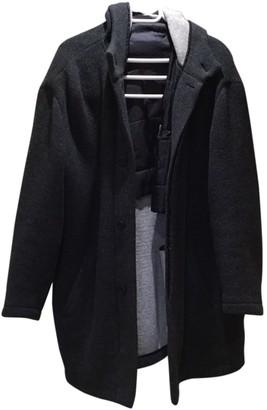 Ermenegildo Zegna Grey Wool Coats