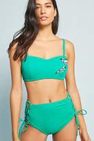 Allihop High-Waisted Lace-Up Bikini Bikini Bikini Bottom