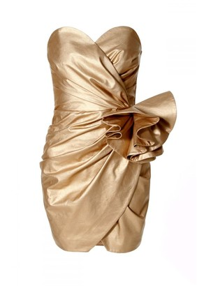Aggi Dress Alessandra Vegas Gold