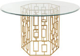 Safavieh Alexandra 54 Round Dining Table, Gold