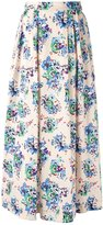 MSGM floral maxi skirt - women - Cotton - 40