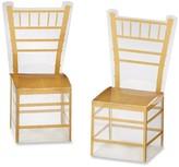 Kate Aspen 24ct Gold Chiavari Gold Chair Favor Box