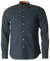 Paul Smith Tailored Fit Polka Dot Grandad Shirt
